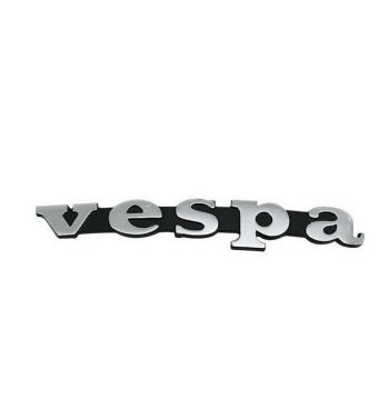 Targhetta VESPA per scudo anteriore per Vespa 50/ Special/ ET3/ PX125-200/ GTR/ Sprint V/ 200 Rally
