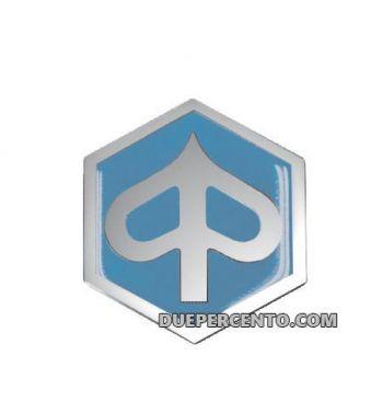 Logo PIAGGIO per nasello Vespa PK 50-125 XL, XL2, PX, Lusso, `98, T5 , 32x37mm, incastro