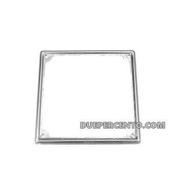 Cornice targa in acciaio Vespa, 170X170