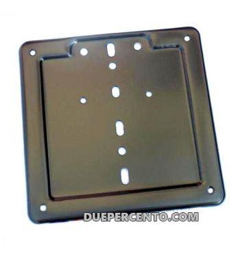 Portatarga Vespa, 170X170 nero
