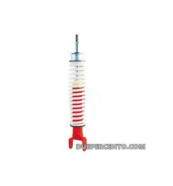 Ammortizzatore posteriore corpo rosso, molla bianca Vespa PK50-125/ XL/ Rush/ HP/ S/ XL/ XL2