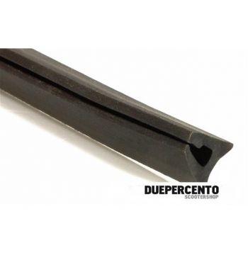 Profilo bauletto portaoggetti, per Vespa TS/160GS/180SS/Rally/PX125-200/PE/Lusso/`98/MY/T5 l=9 mm, l=1700 mm, nero