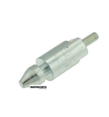 Perno per sella Vespa ET3/ Primavera, Diam. puntale 15mm, Lung. 57mm, filetto M7x18mm