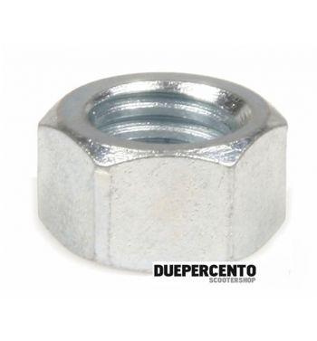 Dado M8 mm, acciaio, zincato, chiave 11mm, a=6,4mm, cerchio Vespa