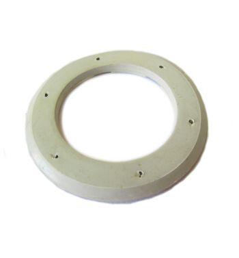 Guarnizione clacson spessore 4mm per Vespa 50 L/ N/ R/ Primavera, Ø 54/76 mm, 6 fori, grigia