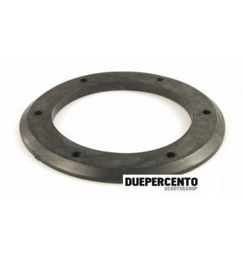 Guarnizione clacson spessore 4mm per Vespa 50 L/ N/ R/ Primavera/ ET3, Ø 54/80 mm, 6 fori, nera