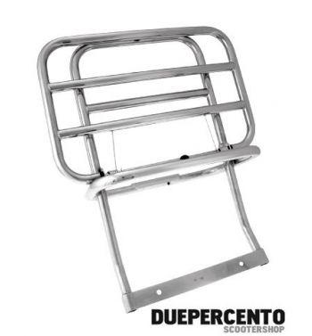 Portapacchi posteriore cromato per Vespa PX125-200/ P200E / Arcobaleno/ `98/ MY/ `11/ T5/ Cosa