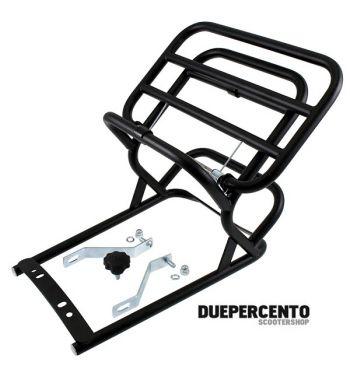 Portapacchi posteriore nero per Vespa 50/ 50 Special/ ET3/ Primavera