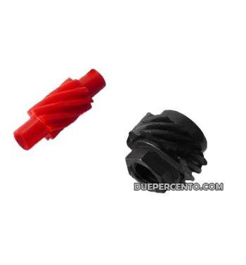 Kit pignone rinvio contachilometri 10/8 denti per Vespa 50/ 50 Special/ ET3/ Primavera/ PK50-125