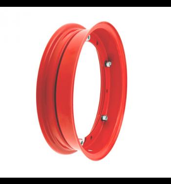 Cerchio RMS 2.10-10 rosso per Vespa 50/ 50 special/ ET3/ PX125-200/ P200E/ Rally 180-200/ T5/ GTR/ TS/ Sprint