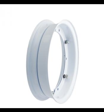 Cerchio RMS 2.10-10 bianco per Vespa 50/ 50 special/ ET3/ PX125-200/ P200E/ Rally 180-200/ T5/ GTR/ TS/ Sprint