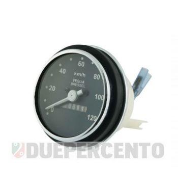 Contachilometri scala 120 km/h cornice cromata per Vespa PK50-125/ S/ SS