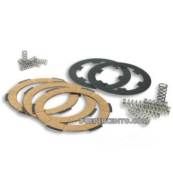 Dischi frizione FERODO RACE per frizione 6 molle, 4 dischi sughero, 3 infradischi, 6 molle per Vespa PK50/ S/ SS/ XL/ XL2/ FL/ HP/ N/ Rush/Ape