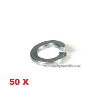 Rondella spezzata M8 - zincata per cerchio ruota per Vespa 50/ ET3/ Primavera/ PX125-200/ GT/ GTR/ TS/ GL/ Sprint/ Rally - 50 pezzi