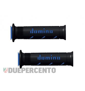 Coppia manopole DOMINO MX2, nero blu