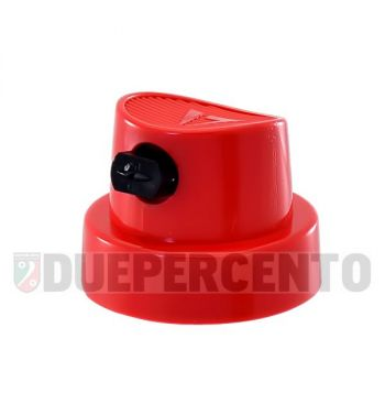 Ugello bomboletta rosso per tratto a ventaglio