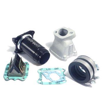 Collettore aspirazione lamellare al carter 2-3 fori PARMAKIT SP Ø36-38  per Vespa 50/ 50 Special/ ET3/ Primavera/ PK50-125