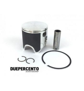 """Pistone PARMAKIT forgiato per kit W-FORCE alluminio Ø 60mm """"D"""", 1 segmento, per Vespa 50/ 50 Special/ ET3/ Primavera/ PK50-125"""