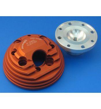 Testa scomponibile PARMAKIT d.60 W-Force, SP09, con candela laterale per Vespa 50/ 50 Special/ ET3/ Primavera/ PK50-125/  ETS