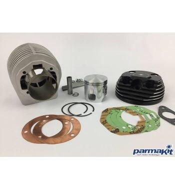 Cilindro da competizione  PARMAKIT SIXTY SIX 205cc, d66, corsa 60 per Vespa PX125-150/ Lusso/ Cosa125-150/ LML125-150/ GTR/ TS/ Sprint Veloce
