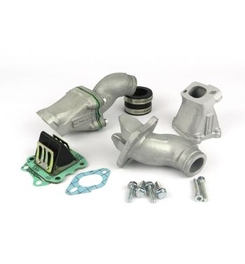 Collettore aspirazione lamellare al carter 2-3 fori PARMAKIT SP Ø28-30 per Vespa PK50-125/ FL/ HP/ N/ Rush