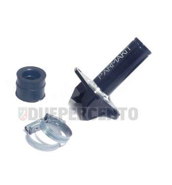 Collettore Ø19mm per collettore aspirazione lamellare PARMAKIT SP per Vespa 50/ 50 Special/ ET3/ Primavera/ PK50-125