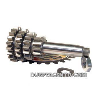 Ingranaggio multiplo DRT F1 z12-15-18-20 per Vespa 50/ 50 Special/ ET3/ Primavera/ PK50-125/ ETS