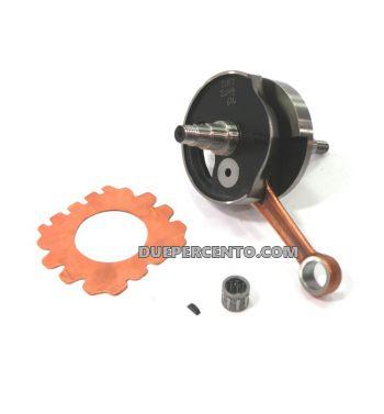 Albero motore DRT MATCH 01 anticipato, cono 19, biella 87, corsa 45, per Vespa 50/ L/ N/ R/ 50 Special