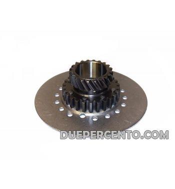 Pignone frizione 7 molle z22 DRT per primaria z65 DRT, z67 e z68 standard per Vespa Largeframe