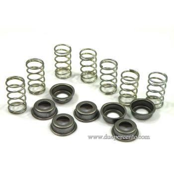Molle rinforzate PINASCO per frizioni 6 / 7 molle per Vespa PX125-200/ P200E/ GTR/ TS/ Srint/ Rally180-200/ 160GS/ 180SS