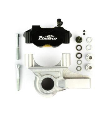 Impianto frenante PINASCO con pinza freno radiale per PX`98/MY/NT 20mm, alluminio, nero/argento