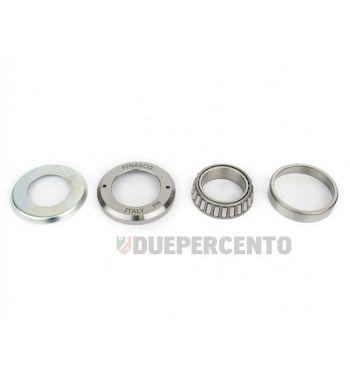 Kit cuscinetto a ralle di sterzo inferiore PINASCO per Vespa 50/ 50 Special/ ET3/ Primavera/ PK50-125/ S/ XL/ XL2/ ETS/ PX125-200/ P200E/ Rally180-200/ T5/ GTR/ TS/ Sprint