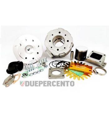 Cilindro da competizione PINASCO Vespone RB 177cc, d63, corsa 57, booster, per Vespa PX125-150/ Lusso/ Cosa125-150/ LML125-150/ GTR/ TS/ Sprint Veloce