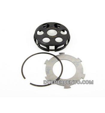 Cestello PINASCO con anello di rinforzo per frizioni 6 molle per Vespa PX125-150/ GTR/ TS/ Sprint/ GL/ VNB/ VBA/ LML125-150