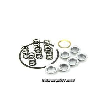 Kit scodellini, molle, anello tenuta e rondella in rame per frizione 6 molle per Vespa PX125-150/ Sprint / GT / GTR / TS/ VNB/ VBA