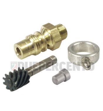 Kit trasmissione contachilometri 9 denti per Vespa 125 GT/ GTR/ TS/ 150 Sprint/ V/ VGL/ GS VS1-5/ VLA/VGLA/ Rally