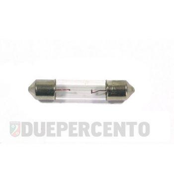 Lampadina siluro 6V 3.0W - 6x31 illuminazione contachilometri Vespa ET3/ Primavera/ Sprint/ GTR/ TS/ Rally