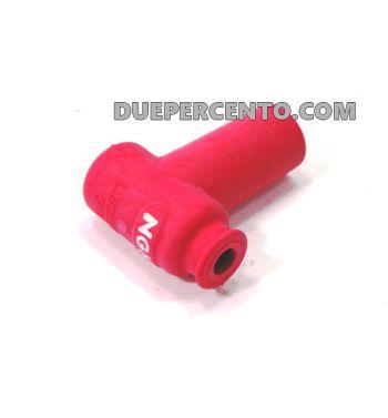 Pipetta candela rossa siliconata NGK