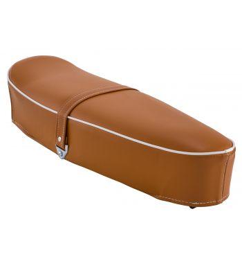 Sella SIP classic marrone senza serratura per Vespa50/ ET3/ Primavera