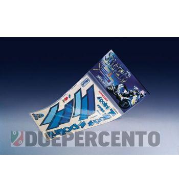 Kit adesivi TEAM POLINI contorno blu