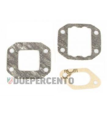 Kit guarnizioni collettore lamellare POLINI 2 fori per  Vespa 50/50 Special/125 ET3/Primavera/PK 50-125