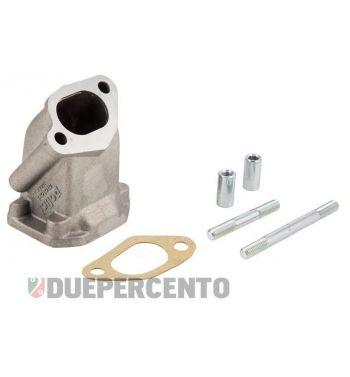 Porta pacco collettore lamellare POLINI 2 fori per Vespa 50/50 Special/125 ET3/Primavera/PK 50-125