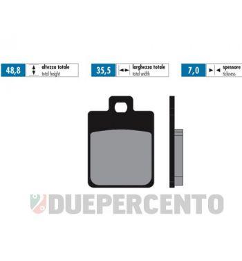 Pastiglie freno POLINI for race per pinza ZIP SP/ Vespa 50/ 125 LX/ Primavera - S14