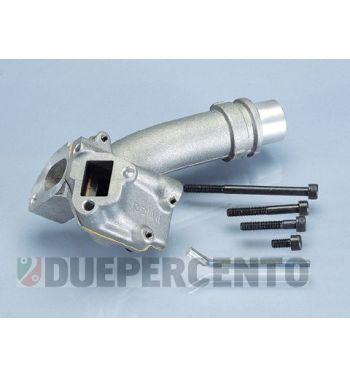 Collettore doppia aspirazione 3 fori, POLINI 24mm per VespaPK50XL/FL/HP/N/Rush/XL2/125 ETS/N/XL/2
