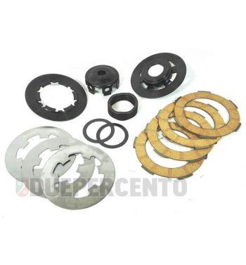 Frizione POLINI FOR RACE molla wave, 4 dischi per Vespa 50/ 50 Special/ ET3/ Primavera/ PK50-125/ FL/ XL/ ETS/ N/ APE