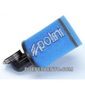 Filtro aria da competizione POLINI Evolution, 90°, PHBG 19-21/PHBL 20-26, collegamento: 39mm, l=190 mm