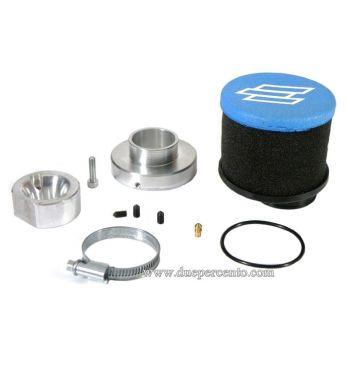 Kit filtro aria POLINI carburatore SI 24/24, SI 26/26 per Vespa PX200/ P200E/ PX200/ 200 Rally/ Lusso/ `98/ MY/ Cosa200