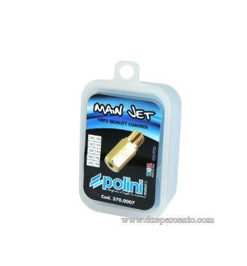 Set getti massimo POLINI 100-118 per carburatore CP/PWK/KEIHIN (100-102-104-106-108-110-112-114-116-118)