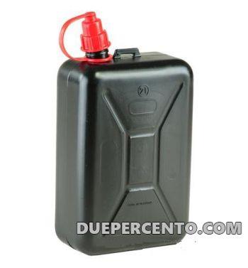 Tanica per benzina con beccuccio - 2 Litri