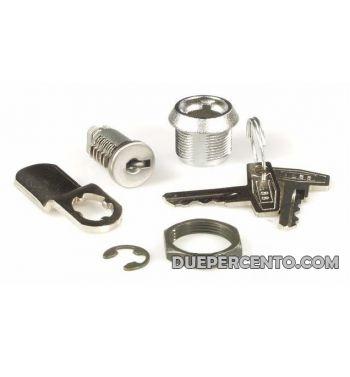 Serratura a chiave per sportello laterale per Vespa 50/ L/ R/ S / Special/ SS/ ET3/Primavera